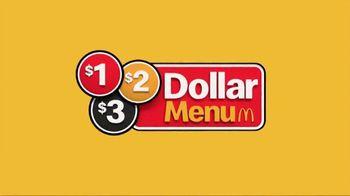 McDonald's $1 $2 $3 Dollar Menu TV Spot, 'Double Down' - Thumbnail 2