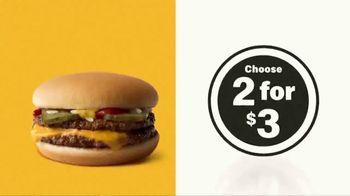 McDonald's $1 $2 $3 Dollar Menu TV Spot, 'Double Down' - Thumbnail 3