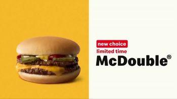 McDonald's $1 $2 $3 Dollar Menu TV Spot, 'Double Down' - Thumbnail 4