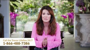 The Trevor Project TV Spot, 'Lisa Vanderpump supports The Trevor Project' - Thumbnail 9