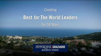 Pepperdine University Graziadio Business School TV Spot, 'Executive MBA Programs' - Thumbnail 9