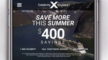 Celebrity Cruises TV Spot, 'Best of Alaska: $400' - Thumbnail 7