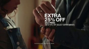 Macy's Father's Day Sale TV Spot, 'Extra 25 Percent Off' - Thumbnail 8