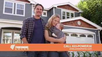 Power Home Solar & Roofing TV Spot, 'The Scariest Sight'