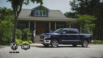 Ram Trucks TV Spot, 'CMT: Just the Beginning' Featuring Jordan Davis, Song by Jordan Davis [T1] - Thumbnail 1