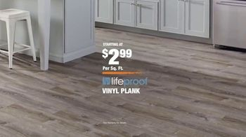The Home Depot TV Spot, 'Somewhere Unexpected: LifeProof Vinyl Flooring' - Thumbnail 10