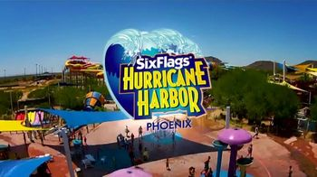Six Flags Hurricane Harbor TV Spot, 'Bigger, Better, Wetter: 50 Percent'