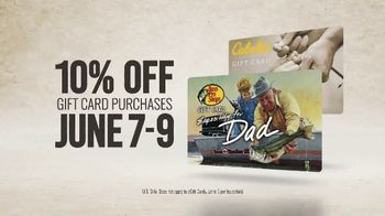 Bass Pro Shops Father's Day Sale TV Spot, 'Gift Cards' - Thumbnail 5
