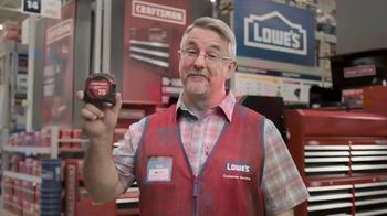 Lowe's Father's Day Sale TV Spot, 'Like Dad Always Says: Dewalt Drill'