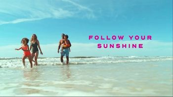 Visit Florida TV Spot, 'Travel: Follow Your Sunshine'