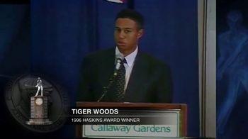 1996 Fred Haskins Award TV Spot, 'Tiger Woods' - Thumbnail 5