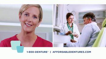 Affordable Dentures TV Spot, 'Get Your Smile Back: 10 Percent'