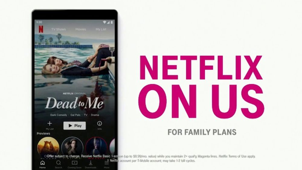 T-Mobile TV Commercial, 'Netflix on Us' - Video