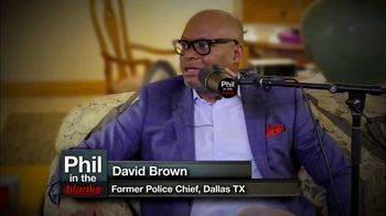 Phil in the Blanks TV Spot, 'Chief David Brown'