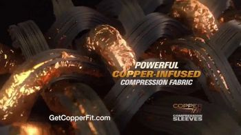 Copper Fit Compression Sleeves TV Spot, 'Fast Recovery and Relief' - Thumbnail 3