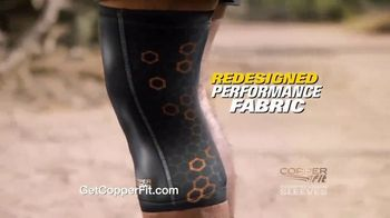Copper Fit Compression Sleeves TV Spot, 'Fast Recovery and Relief' - Thumbnail 4