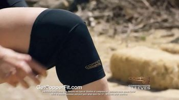 Copper Fit Compression Sleeves TV Spot, 'Fast Recovery and Relief' - Thumbnail 5