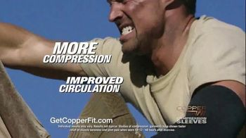Copper Fit Compression Sleeves TV Spot, 'Fast Recovery and Relief' - Thumbnail 6