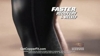 Copper Fit Compression Sleeves TV Spot, 'Fast Recovery and Relief' - Thumbnail 8