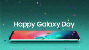 Samsung Galaxy TV Spot, 'Happy Galaxy Day: One Year Free'
