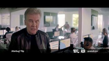 GreatCall Jitterbug Flip TV Spot, 'Father's Day: Veteran Dad' Featuring John Walsh