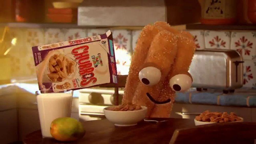 Cinnamon Toast Crunch Churros TV Commercial, 'Para cualquier momento'
