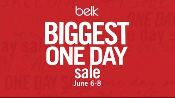 Belk Biggest One Day Sale TV Spot, \'Doorbusters: Men\'s Polos and Tees\'