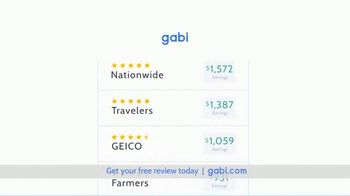 Gabi Personal Insurance Agency TV Spot, 'Does the Shopping for You' - Thumbnail 6