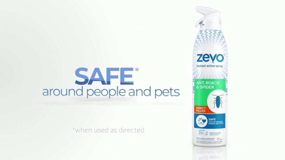 Zevo Tv Commercial Bad For Bugs Safe For People And