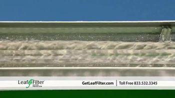 LeafFilter TV Spot, 'End Gutter Cleaning Forever: Save 15 Percent' - Thumbnail 7