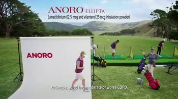 Anoro TV Spot, 'My Own Way: Golf' - Thumbnail 2