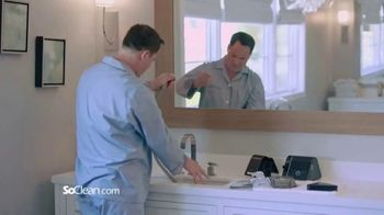SoClean TV Spot, 'Bill in the Bathroom' Featuring William Shatner - Thumbnail 1