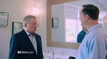 SoClean TV Spot, 'Bill in the Bathroom' Featuring William Shatner - Thumbnail 8