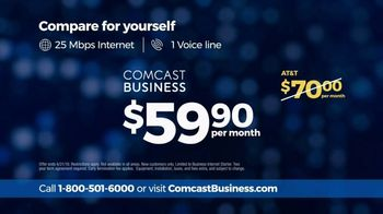 Comcast Business TV Spot, 'Competitor Comparison: AT&T' - Thumbnail 6
