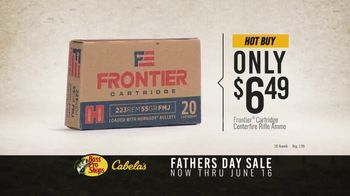 Bass Pro Shops Fathers Day Sale TV Spot, 'Frontier Cartridge Ammo and Pistol' - Thumbnail 4