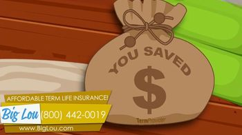Big Lou Term Life Insurance TV Spot, 'Guys With Health Glitches' - Thumbnail 9