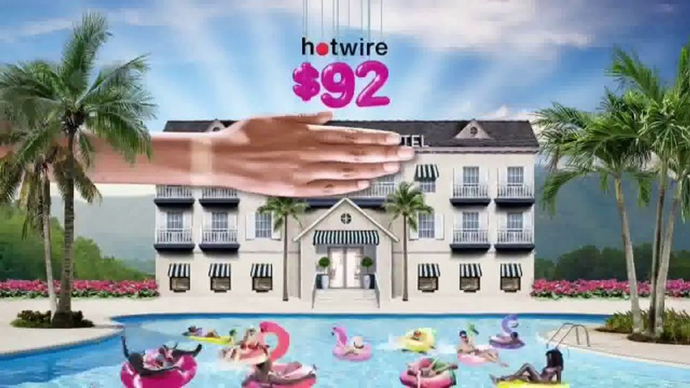 Hotwire TV Commercial, 'The Hotwire Effect: Water'
