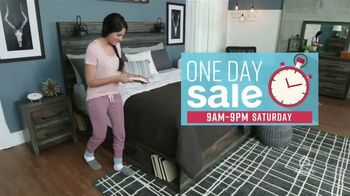 Ashley HomeStore One Day Sale TV Spot, '25 Percent Off & Doorbusters' Song by Midnight Riot