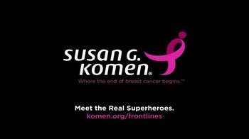 Susan G. Komen for the Cure TV Spot, 'On the Frontlines' - Thumbnail 7