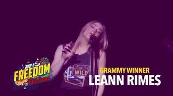 Miccosukee Resort & Gaming TV Spot, 'July 4 Freedom Festival' Featuring Leann Rimes - Thumbnail 5