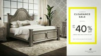 American Signature Furniture Summer Clearance Sale TV Spot, 'Hurry In'