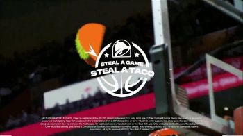 Taco Bell Steal a Game, Steal a Taco TV Spot, '2019 NBA Finals: Warriors' - Thumbnail 8