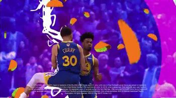 Taco Bell Steal a Game, Steal a Taco TV Spot, '2019 NBA Finals: Warriors' - Thumbnail 7