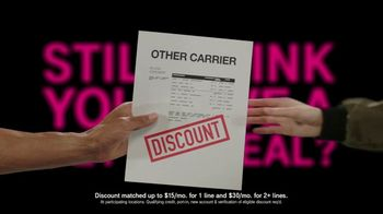 T-Mobile TV Spot, 'Benefits' - Thumbnail 6