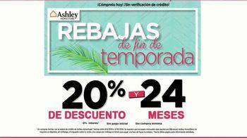 Ashley HomeStore Venta Rebajas de Fin de Temporada TV Spot, 'Sin enganches' [Spanish] - Thumbnail 3