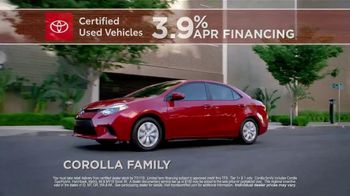 Toyota Certified Used Vehicles TV Spot, 'What You Get' [T2] - Thumbnail 8