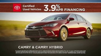 Toyota Certified Used Vehicles TV Spot, 'What You Get' [T2] - Thumbnail 7