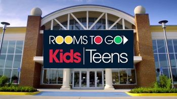 Rooms to Go Kids & Teens TV Spot, 'Rooms Under $1,000' - Thumbnail 2