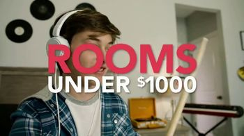Rooms to Go Kids & Teens TV Spot, 'Rooms Under $1,000'
