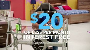 Rooms to Go Kids & Teens TV Spot, 'Rooms Under $1,000' - Thumbnail 5